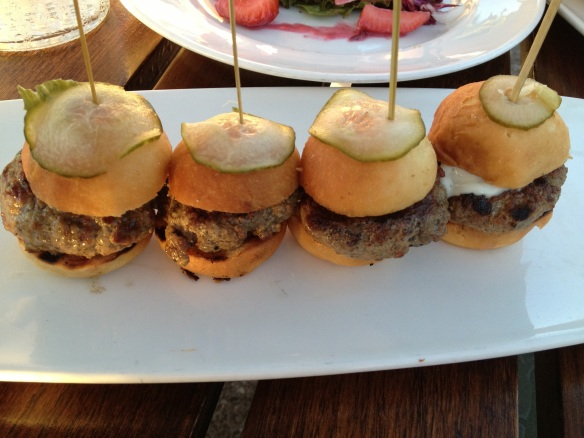 Pretty darned good sliders. THERE's the beef.
