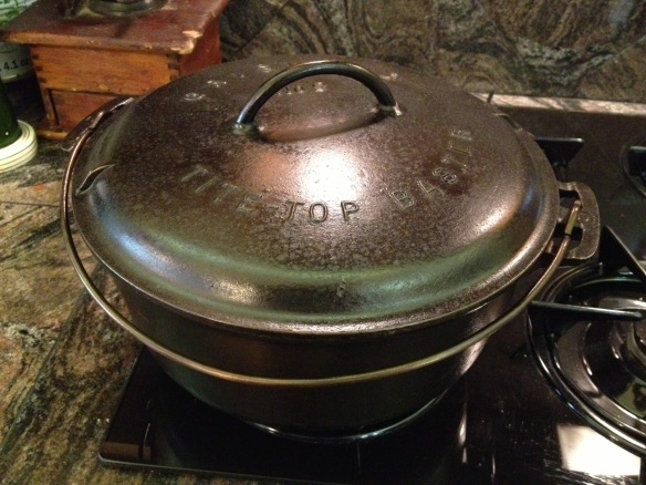 The less amusing version of a Dutch oven.