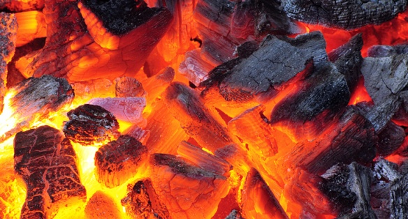 Coals ready? Good. Let's grill.