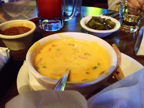 Queso is just better in Texas. I have no idea why.