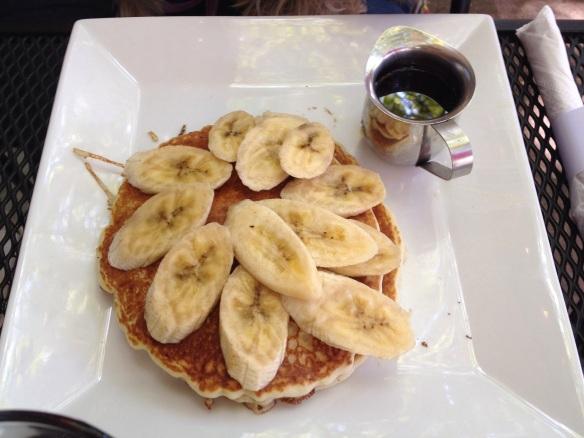 Bananas on top of pancakes do not banana pancakes make.