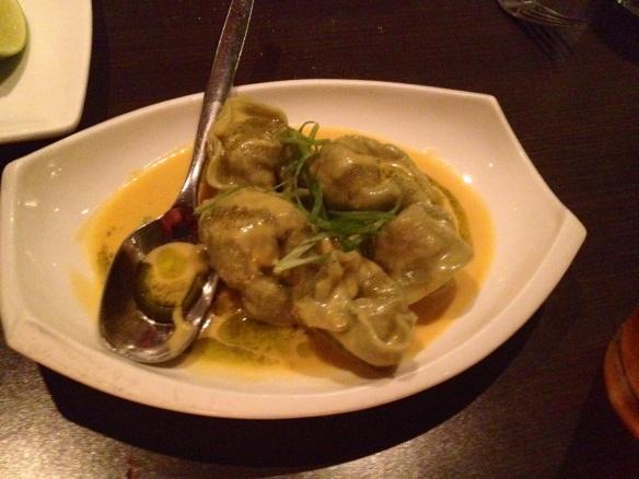 Butternut squash dumplings. Who'da thunk it?