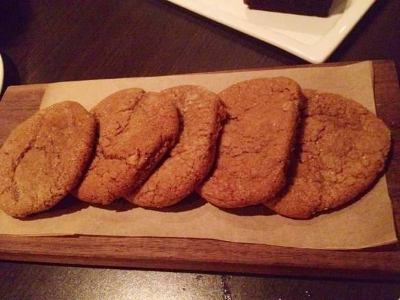 COOOOKIIEEEEE  (These are the ginger cookies I mentioned earlier, by the way.)