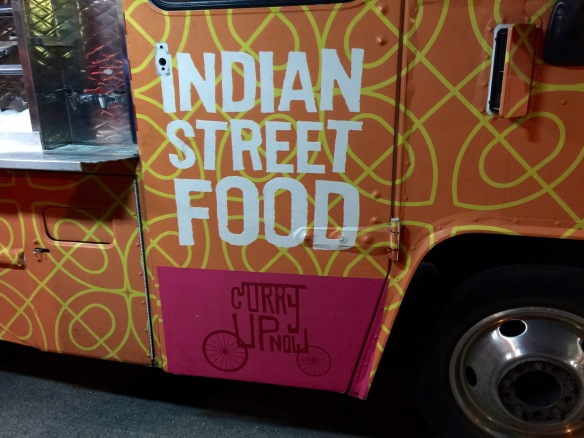Curry on wheels. It totally works.