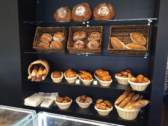 The bread offerings are actually a bit disappointing. I hear the croissants are decent though.
