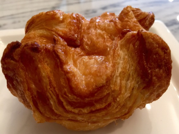 'Kouign amann' is French for 'Finally, something with character'.
