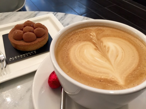 I'm a sucker for foam art. It automatically makes any latte 18.4% more delicious.